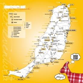 Fuerteventura Viaje Mapa