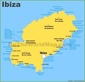Ibiza Island Maps