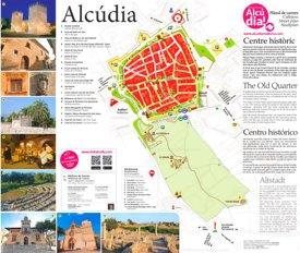 Mapa de Barrio Antiguo de Alcúdia