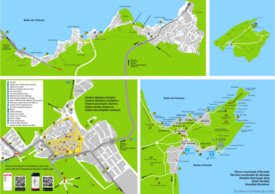 Alcúdia tourist map