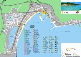 Puerto de Alcudia map