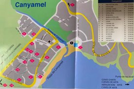 Canyamel Hotel Map