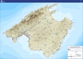 Majorca road map