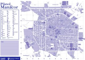 Manacor Sightseeing Map