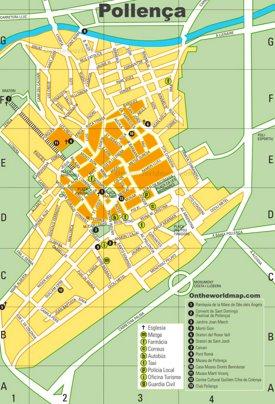 Pollensa Mapa Turístico