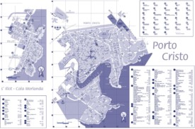 Porto Cristo - Mapa Turistico