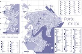 Porto Cristo tourist map
