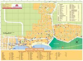 Sa Coma hotel map