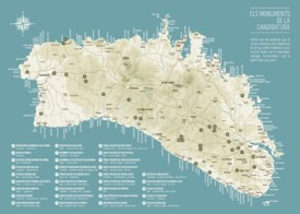 Minorca beach map
