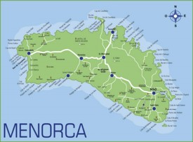 Minorca road map