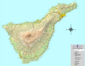 Tenerife road map