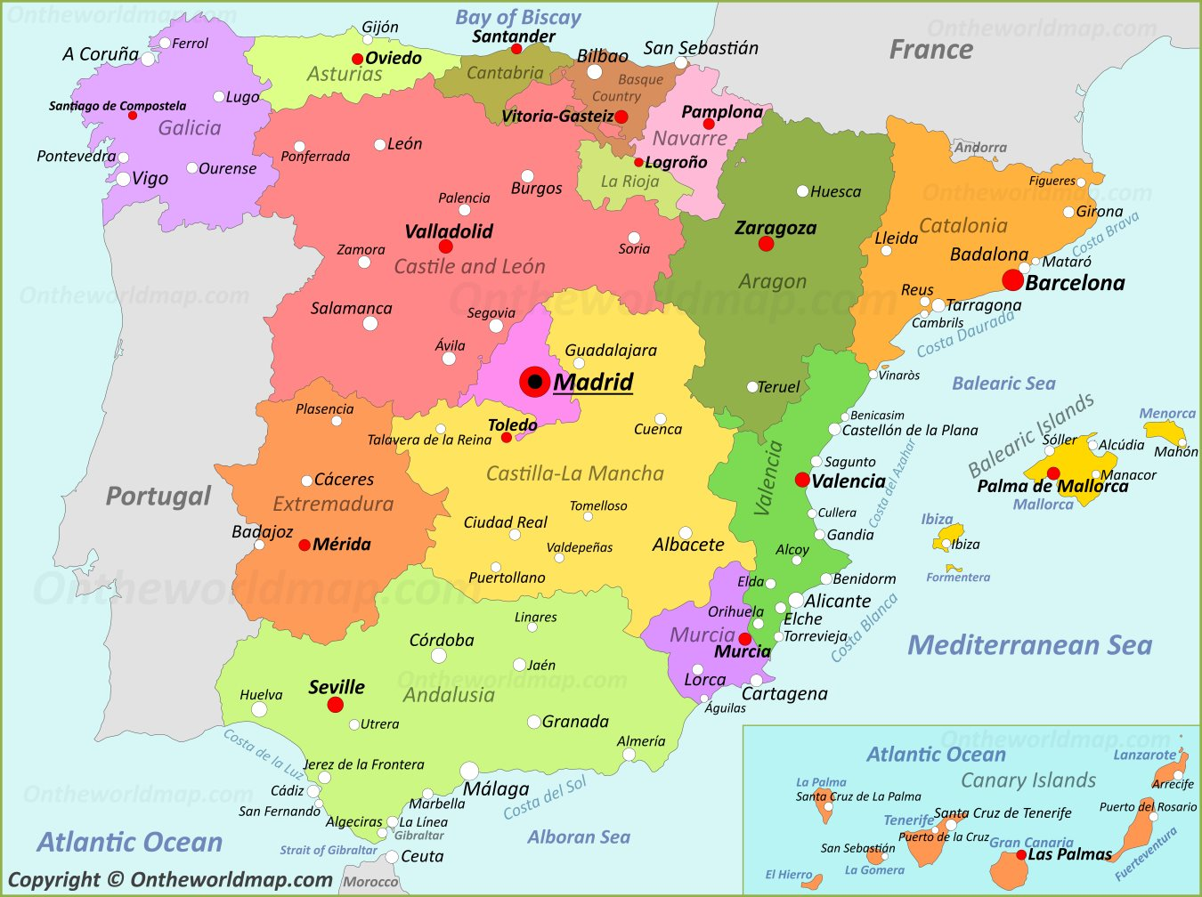 Maps Of Spain Spain Maps | Maps of Spain