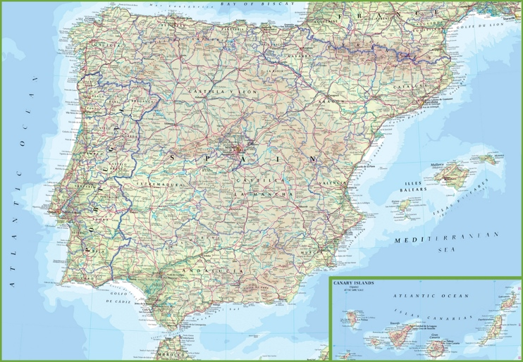 Spain road map