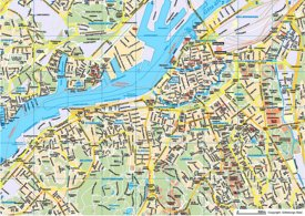 Gothenburg tourist map