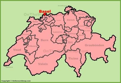 Basel Switzerland Map Basel city Maps | Switzerland | Maps of Basel (Basle)