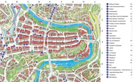 Bern city Maps Switzerland Maps of Bern Berne