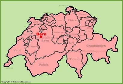 Bern Switzerland Map Bern city Maps | Switzerland | Maps of Bern (Berne) Bern Switzerland Map