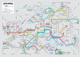 Bern transport map