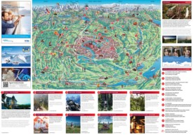 Tourist map of surroundings of Bern