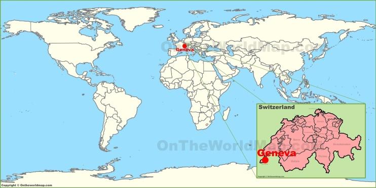 Geneva on the World Map
