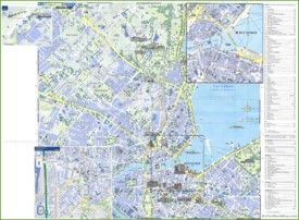 Geneva sightseeing map
