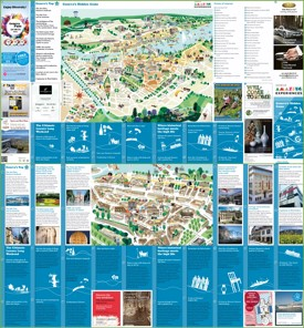 Geneva tourist attractions map
