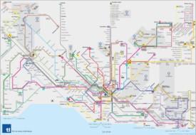 Lausanne transport map