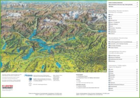 Lucerne excursions map