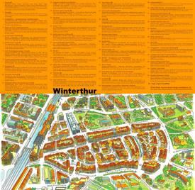 Winterthur Maps | Switzerland | Maps of Winterthur