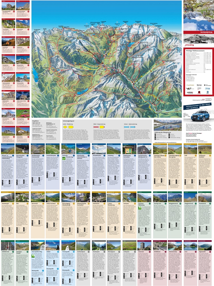 Andermatt trail map