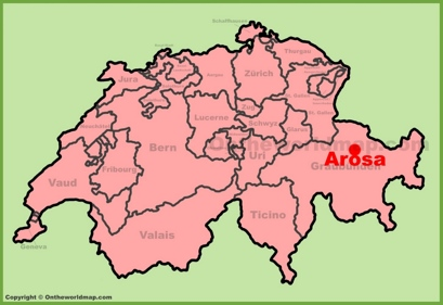 Arosa Location Map