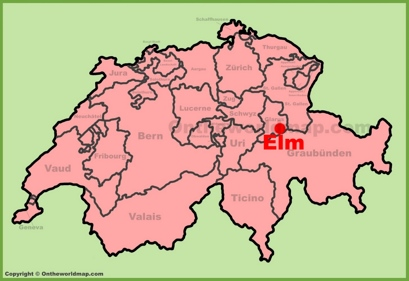 Elm Location Map