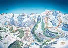 Engelberg piste map