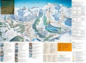 Engelberg ski map