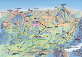 Grindelwald trail map