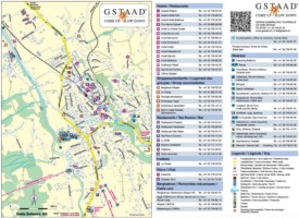 Gstaad hotel map