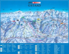 Gstaad ski map