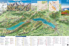 Interlaken tourist map