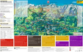 Laax bike map
