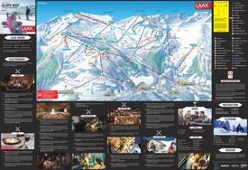 Laax ski map
