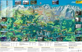 Laax summer map