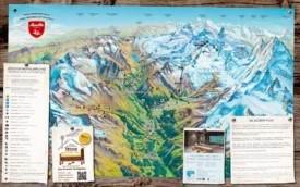 Saas-Fee walking map