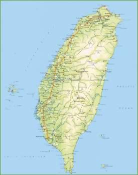 Taiwan road map