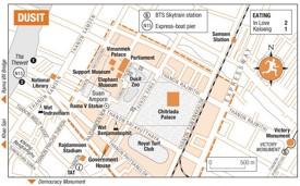 Dusit map