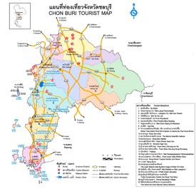 Chonburi Province map
