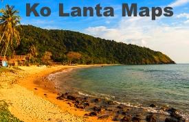 Ko Lanta maps