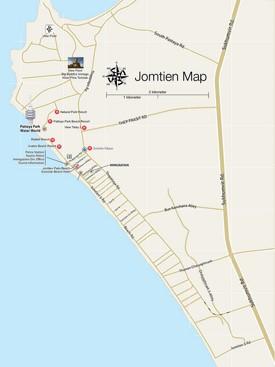 Jomtien map