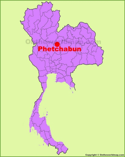 Phetchabun Location Map