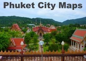 Phuket City maps
