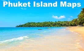 Phuket Island maps